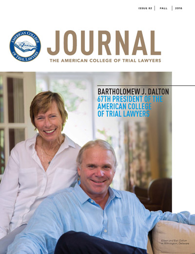 ACTL_Journal_82_Fall_2016_cover