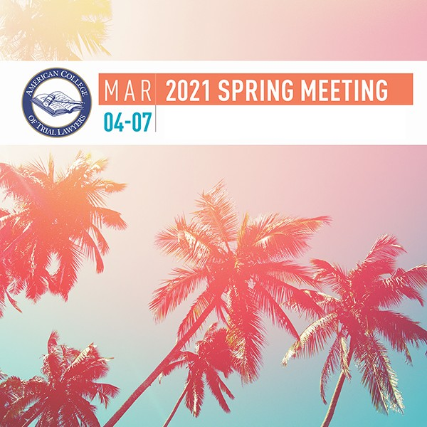 Spring Meeting Icon Square for Event Details Hero Image